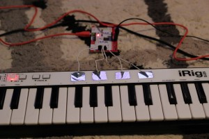 iRig Keys with some added functionality!