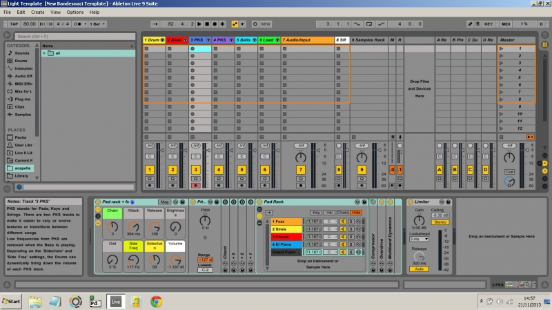 Free Download: the Bandesnaci Light Template for Ableton Live ...